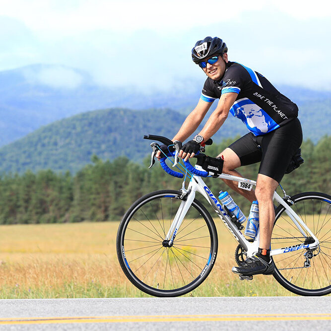 Dr. Payam Completes the Lake Placid IRONMAN triathlon.
